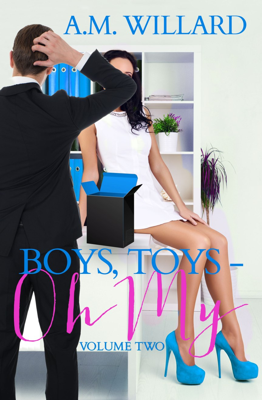 Cover Reveal  ✰ Boys, Toys – Oh My Vol 2 by A.M. Willard