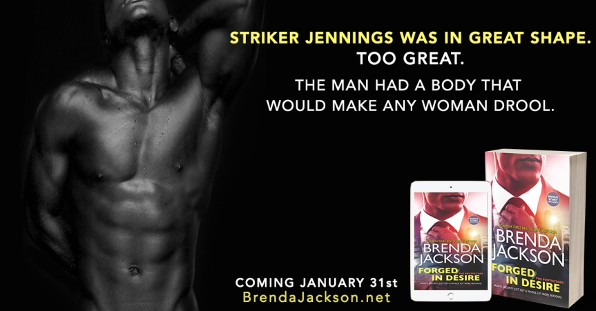 Excerpt Reveal ✰ FORGED IN DESIRE by Brenda Jackson