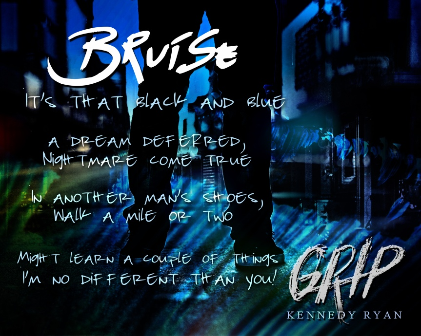 """Signed Paperback Giveaway & Special """"Bruise"""" from KennedyRyan"""