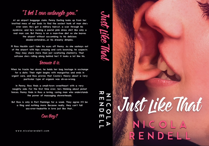 Cover Reveal ✰ Just Like That by Nicola Rendell