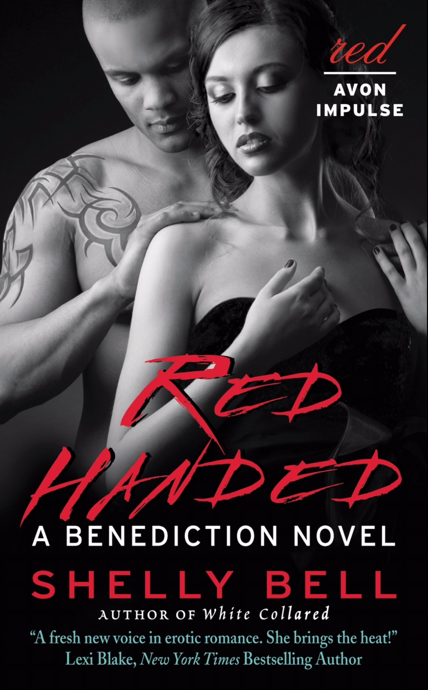 BLOG TOUR ✰ Red Handed by Shelly Bell
