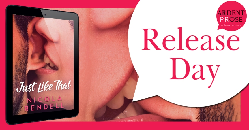 Release Day Blitz ✰ Just Like That by NicolaRendell