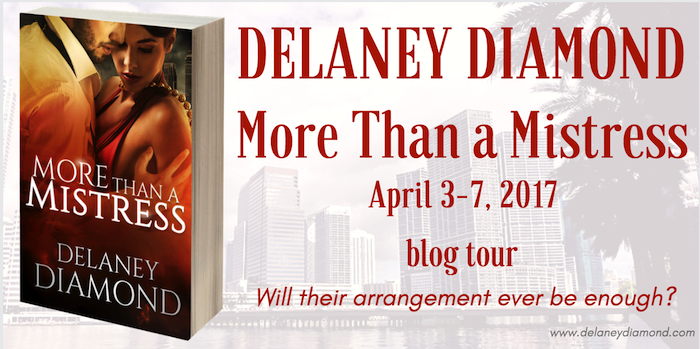 BLOG TOUR ✰ More Than A Mistress (Latin Men, Book 5) by Delaney Diamond