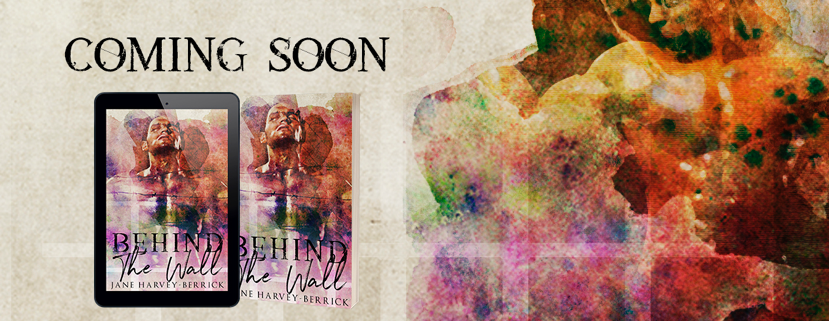 Cover Reveal ✰ Behind The Wall by Jane Harvey-Berrick